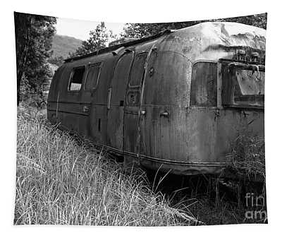Abandoned Airstream In The Jungle Tapestry