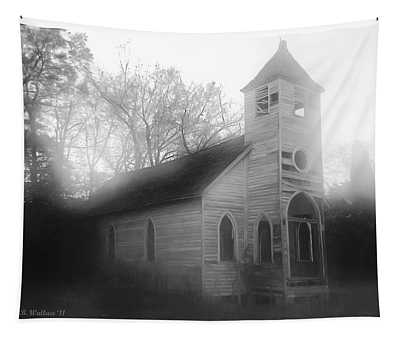 Abandoned Church Tapestry