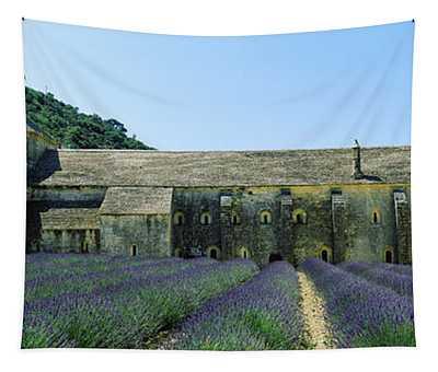 Abbey In A Lavender Field, Abbaye De Tapestry
