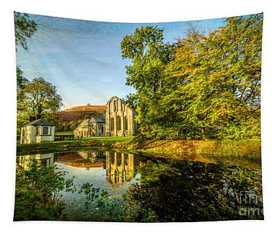Abbey Lake Autumn Tapestry