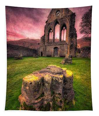 Abbey Ruin Tapestry