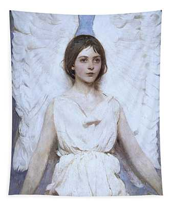 Abbott Handerson Thayer Angel 1886 Tapestry