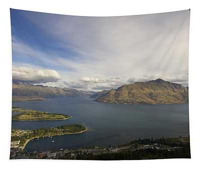 Above Queenstown #2 Tapestry