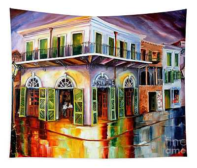 Absinthe House New Orleans Tapestry