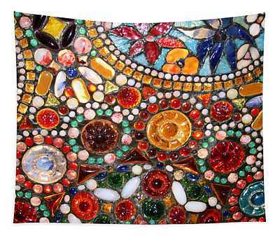 Abstract Beads Tapestry