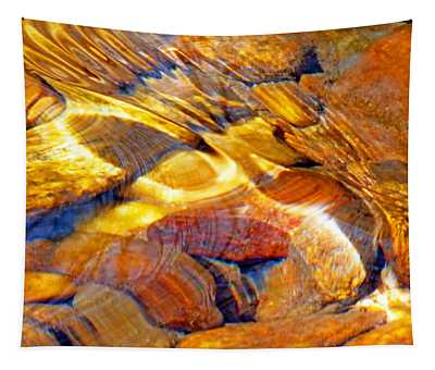Abstract Creek Water 4 Tapestry