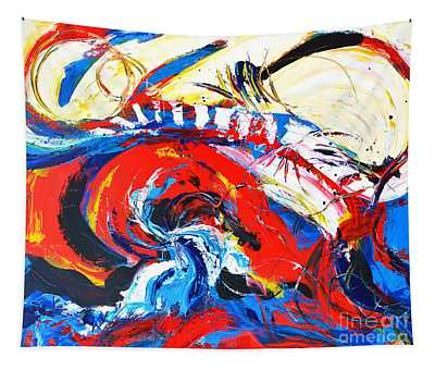 Abstract Expressionism No. 2 Tapestry
