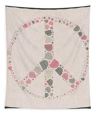 Peace Symbol Design - S77bt01 Tapestry