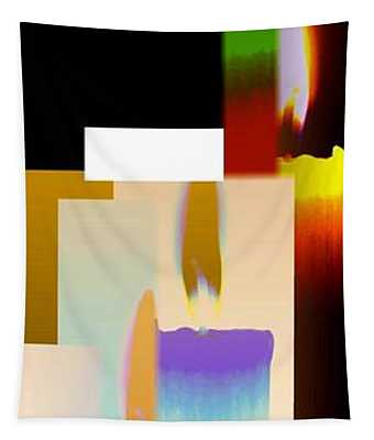Abstract Fusion 185 Tapestry