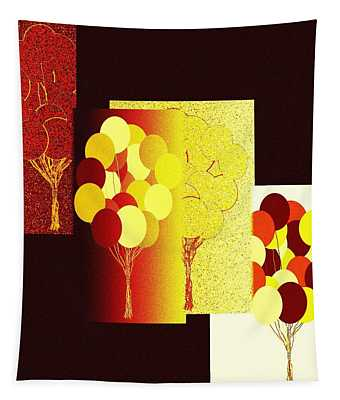 Abstract Fusion 192 Tapestry