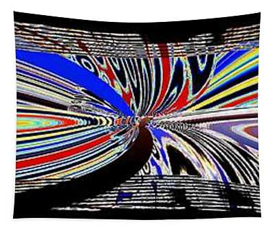 Abstract Fusion 197 Tapestry