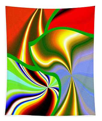 Abstract Fusion 200 Tapestry