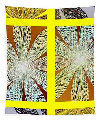 Abstract Fusion 216 Tapestry