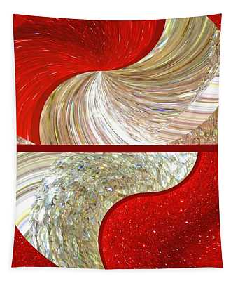 Abstract Fusion 218 Tapestry