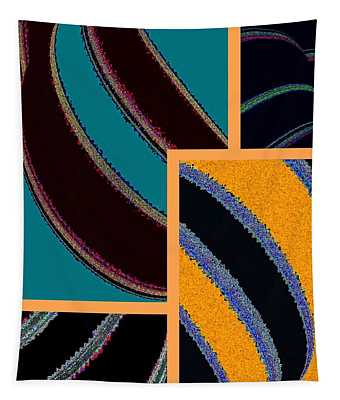 Abstract Fusion 237 Tapestry
