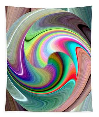 Abstract Fusion 241 Tapestry