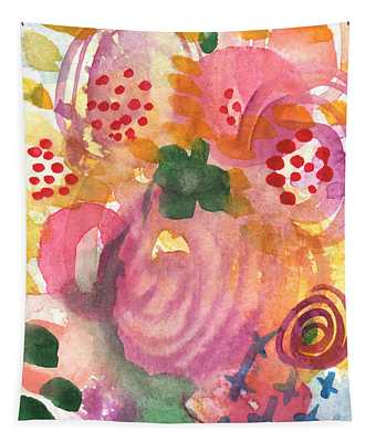 Abstract Garden #44 Tapestry