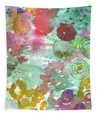 Abstract Garden Tapestry