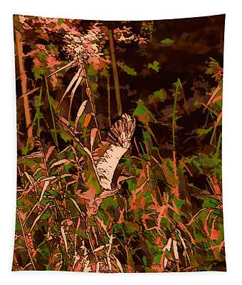 Abstract Heron   Leif Sohlman Tapestry