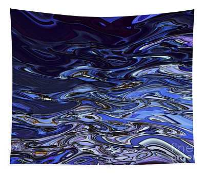 Abstract Reflections - Digital Art #2 Tapestry