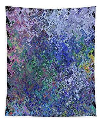 Abstract Reflections Tapestry