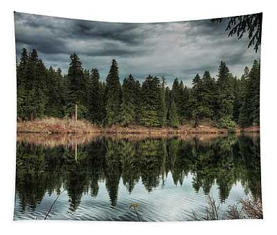 Across The Lake Tapestry