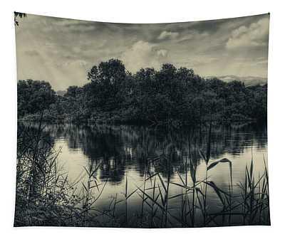 Adda River 3 Tapestry