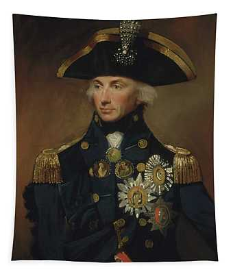 Admiral Horatio Nelson Tapestry