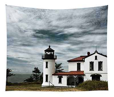 Admiralty Head Lighthouse Tapestry