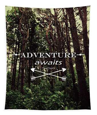 Adventure Awaits Tapestry