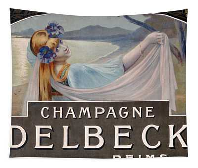Advertisement For Champagne Delbeck Tapestry