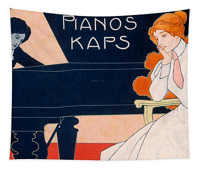 Advertisement For Kaps Pianos Tapestry