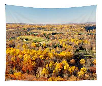 Aerial View Of A Landscape, Delaware Tapestry