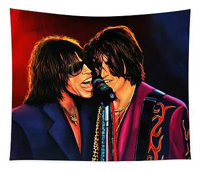 Aerosmith Toxic Twins Painting Tapestry