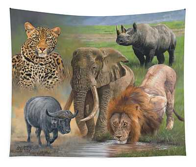 Rhinocerus Wall Tapestries