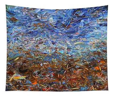 After A Rain Tapestry