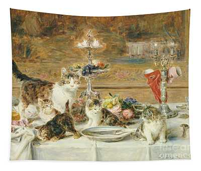 After Dinner Guests Tapestry