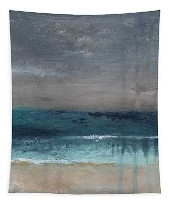 After The Storm- Abstract Beach Landscape Tapestry
