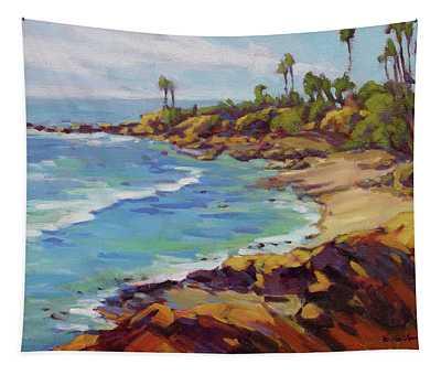 Afternoon Glow 2 /laguna Beach Tapestry