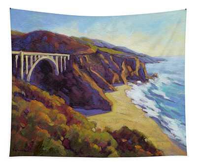 Afternoon Glow 3 / Big Sur Tapestry