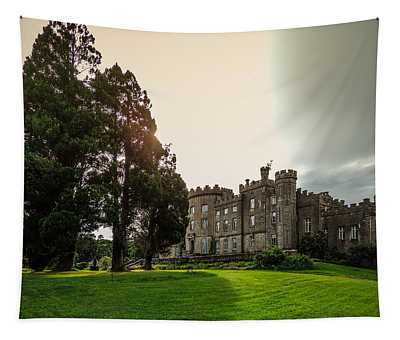 Afternoon Sun Over Markree Castle Tapestry