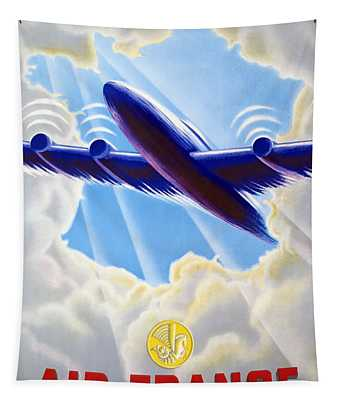Air France Tapestry