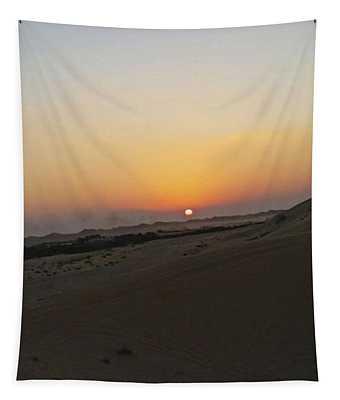 Al Ain Desert 20 Tapestry