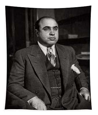 Al Capone - Scarface Tapestry