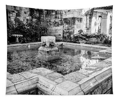 Alamo Fountain Tapestry