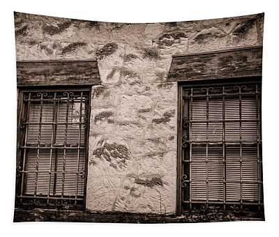Alamo Windows Tapestry