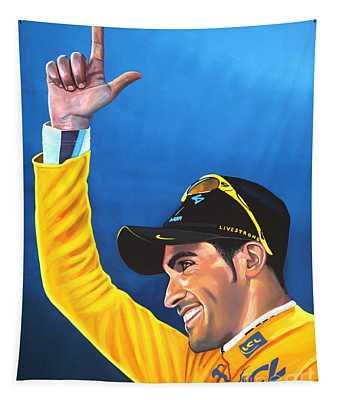Alberto Contador Tapestry