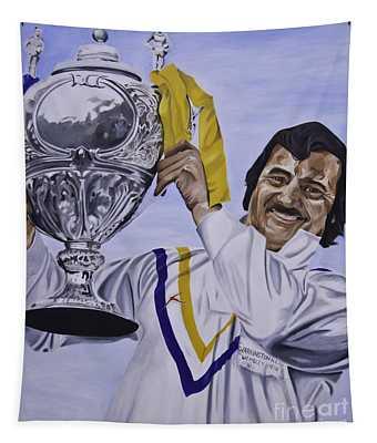 Alex Murphy Tapestry