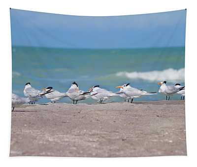 All In A Row Tapestry