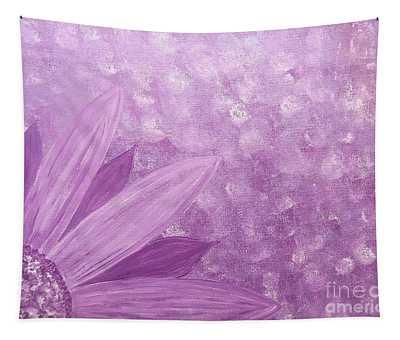 All Purple Flower Tapestry